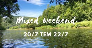Mixed weekend - Ardennen
