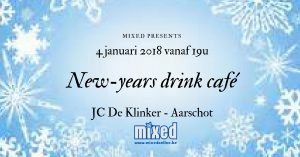 New-years drink café
