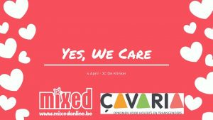 Yes, we care!