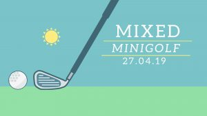 Blacklight minigolf @ Mixed / JC De Klinker