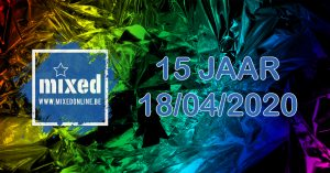 15jaar Mixed @ Mixed / JC De Klinker